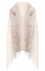 Fake-Fur-Sjaal-Creme