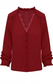 Lace-Blouse-Exclusive-Bordeaux