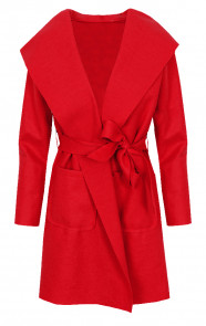 Wanted Coat Short Rood