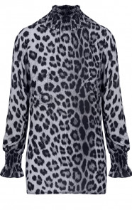 Panter-Oversized-Blouse-Grijs