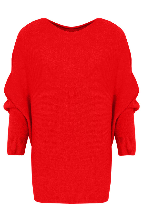 Trui Rood.Oversized Soft Trui Rood Themusthaves Nl