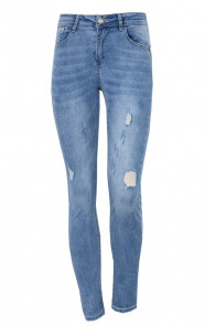 Damaged Jeans Perfect Fit