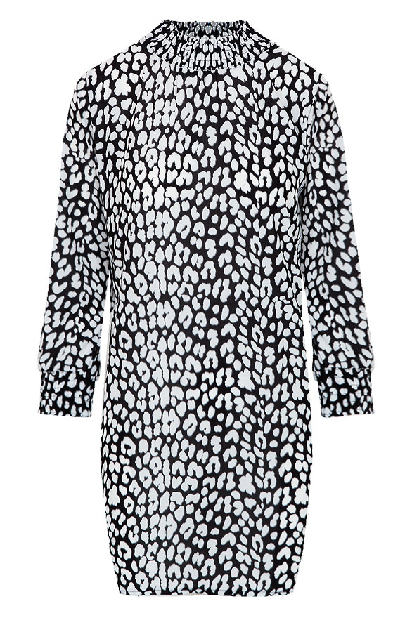 99a3119ac6f Panter Col Tuniek Zwart Wit | Themusthaves.nl