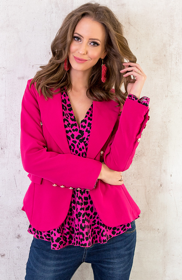 button-blazers-fuchsia