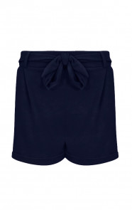 Basic-Strik-Shorts-Marineblauw