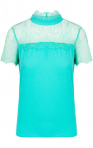 Top-Kant-Dames-Turquoise