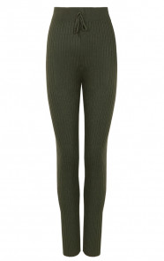 Dames-Legging-Legergroen