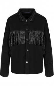 Fringe-Jacket-Exclusive-Zwart