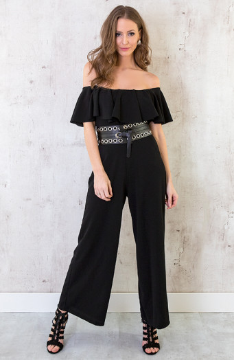 Off-Shouder-jumpsuit-Zwart-1