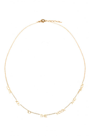 Love-You-To-The-Moon-Ketting-Goud