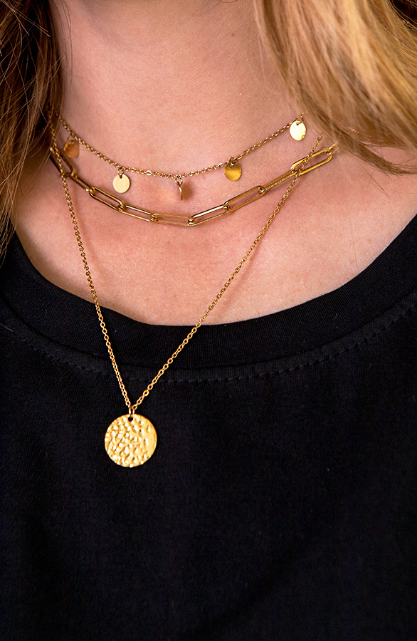 Coins-Layer-Ketting-Goud-1