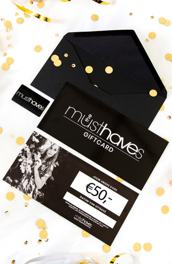 Musthave Giftcard €50