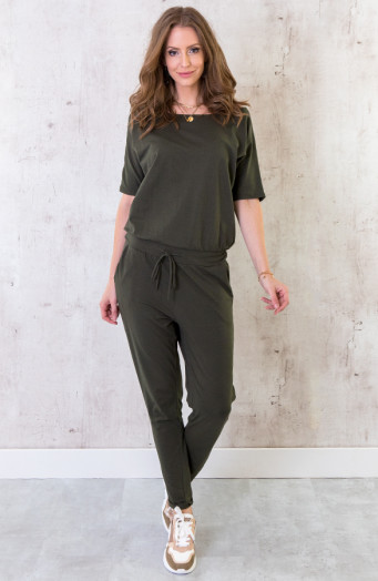 Jumpsuit-Basic-Legergroen-4