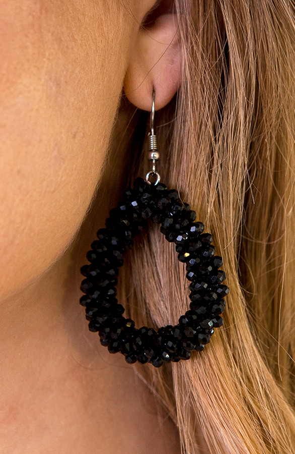 Oval-Black-Oorbellen-1