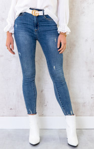 Skinny-High-Waisted-Jeans-Blauw-2