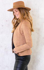 Suede-Blazer-Met-Rits-Taupe-3