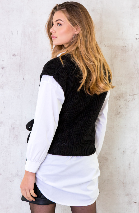 Spencer-Strik-Vest-Zwart-5