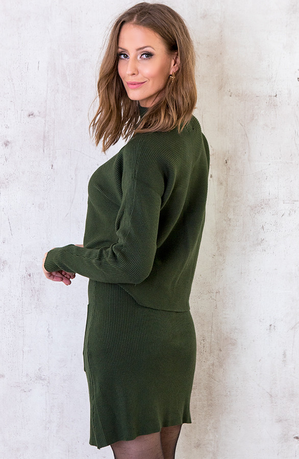 Twinset-Trui-Met-Col-Army-1
