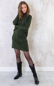 Twinset-Trui-Met-Col-Army-2