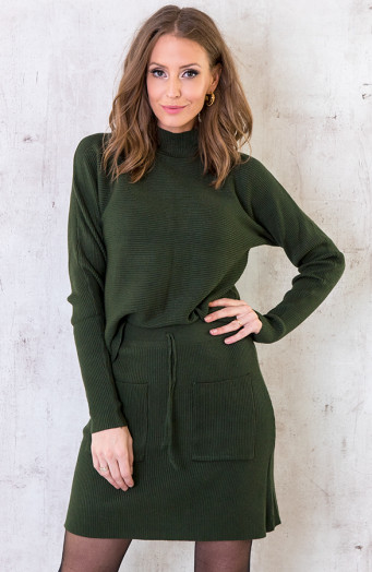 Twinset-Trui-Met-Col-Army-3