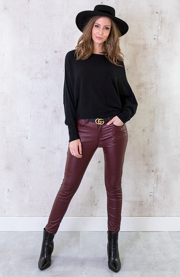 High-Waist-Coating-Jeans-Bordeaux-3