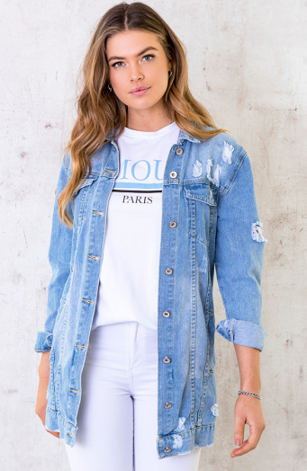 Long Denim Jacket 1.0