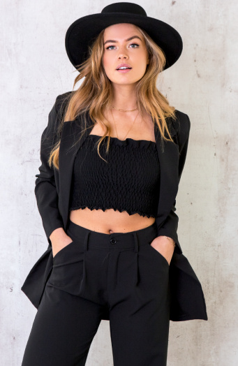 Ultra Oversized Blazer Black