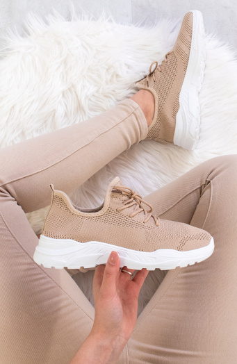 Chloé Comfy Sneaker Taupe