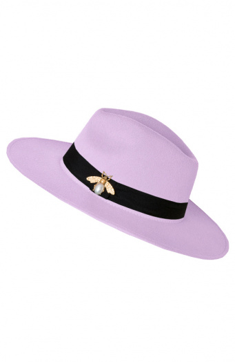 Exclusive-Hat-Bee-Lila
