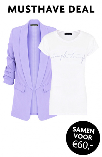 Musthave-Deal-Simple-Things-Blazer-Lila