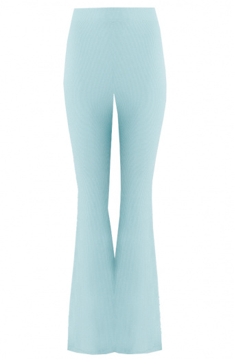 Flared Broek Extremely Stretch Mint