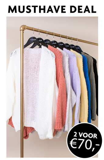 Musthave-Deal-Knitted-Vesten