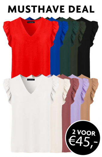 Musthave Deal Ruffle Blouses
