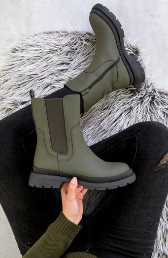 Chelsea Boots Mat Army