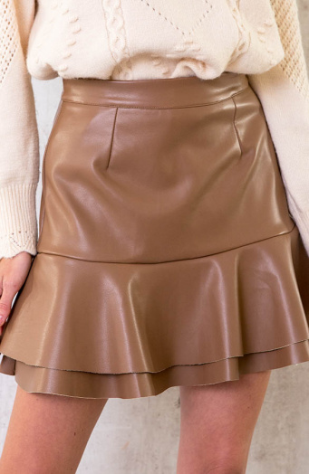 Leather-Layer-Skirt-Camel-7
