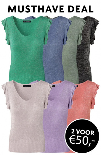 Musthave-Deal-Ruffle-Lurex-Tops