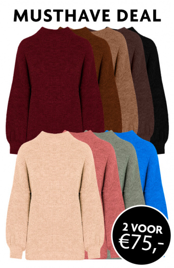Musthave Deal Knitted Sweaters Dames